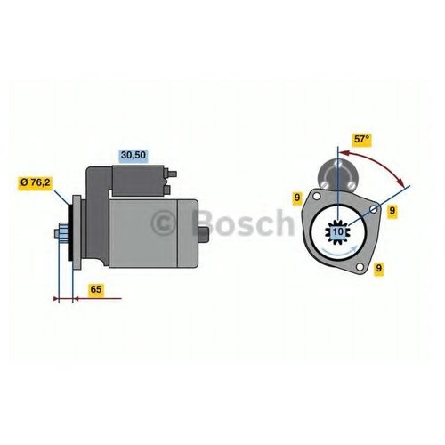 Bosch 0 986 021 870 Стартер