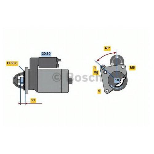 Bosch 0 986 021 970 Стартер