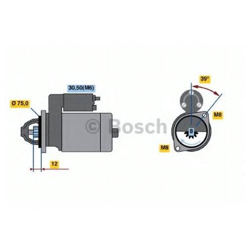 Bosch 0 986 022 101 Стартер