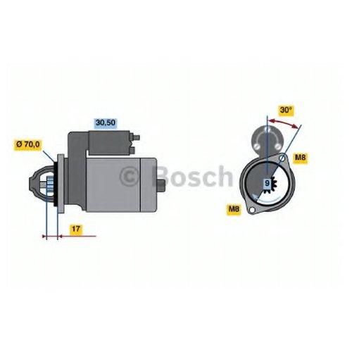 Bosch 0 986 022 151 Стартер
