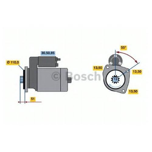Bosch 0 986 022 260 Стартер
