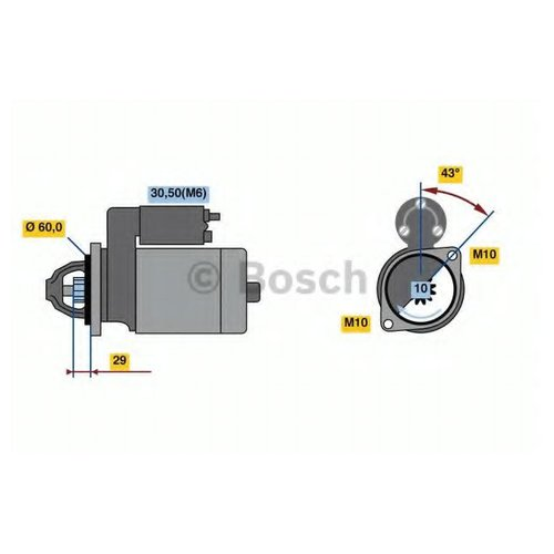Bosch 0 986 022 280 Стартер
