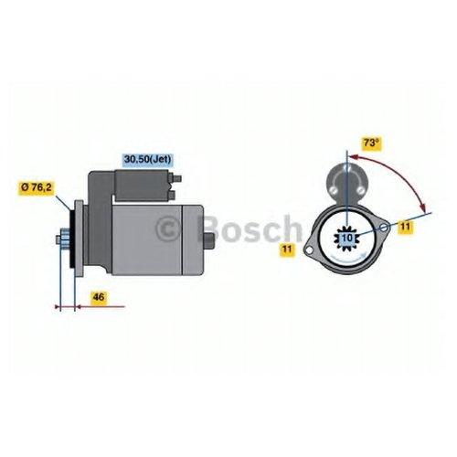 Bosch 0 986 022 290 Стартер