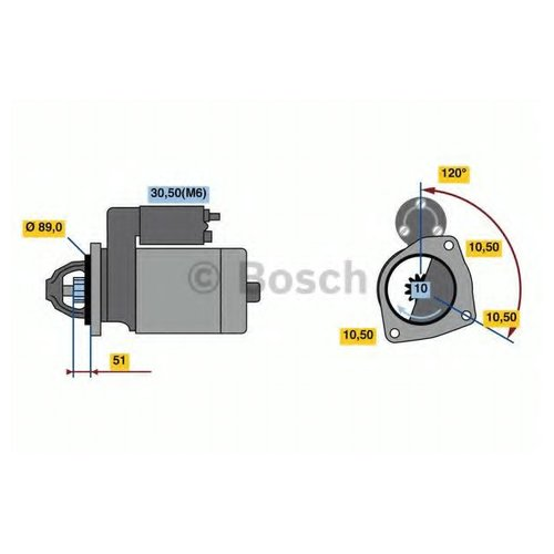 Bosch 0 986 022 400 Стартер