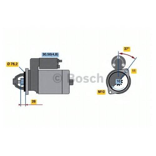 Bosch 0 986 022 450 Стартер