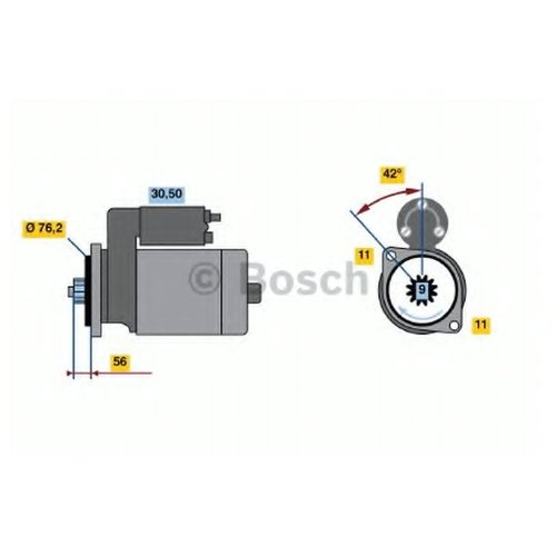 Bosch 0 986 022 470 Стартер