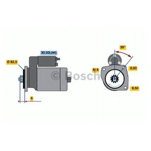 Bosch 0 986 022 510 Стартер