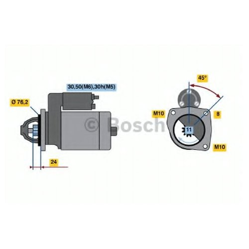 Bosch 0 986 022 581 Стартер