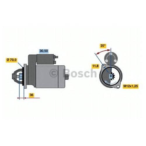 Bosch 0 986 022 611 Стартер