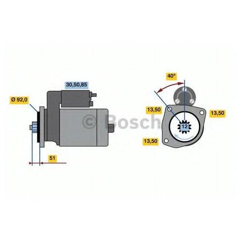 Bosch 0 986 022 640 Стартер