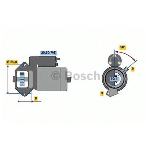 Bosch 0 986 022 670 Стартер
