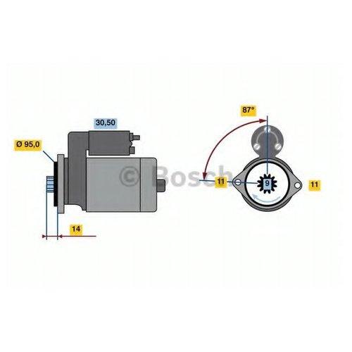 Bosch 0 986 022 690 Стартер