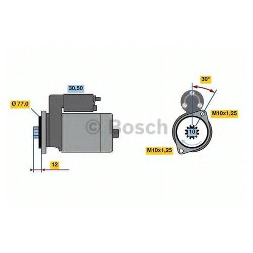 Bosch 0 986 022 700 Стартер