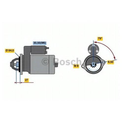 Bosch 0 986 022 730 Стартер