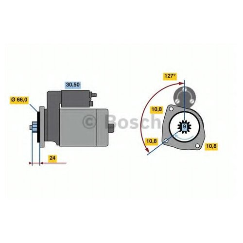 Bosch 0 986 022 760 Стартер