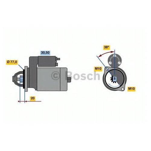 Bosch 0 986 022 780 Стартер