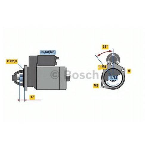 Bosch 0 986 022 790 Стартер