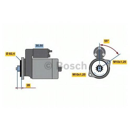 Bosch 0 986 022 820 Стартер