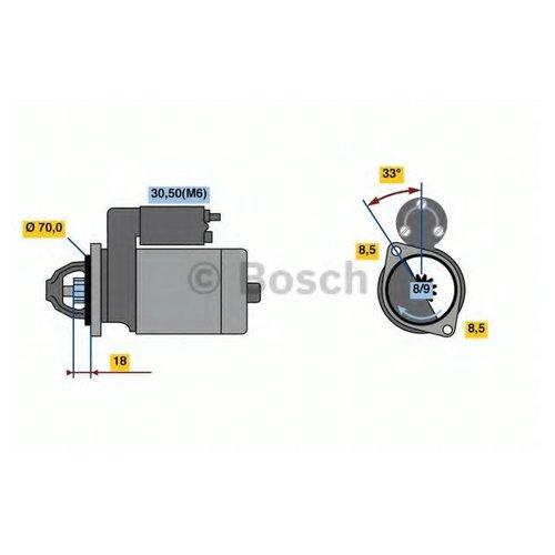 Bosch 0986022900 Стартер