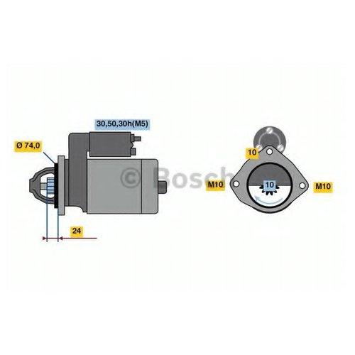 Bosch 0 986 022 930 Стартер