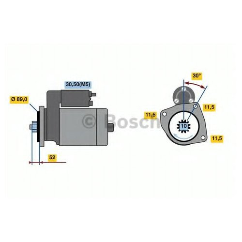 Bosch 0 986 022 940 Стартер