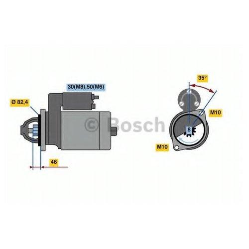 Bosch 0 986 022 960 Стартер