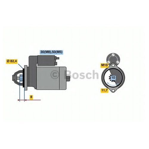 Bosch 0 986 022 970 Стартер