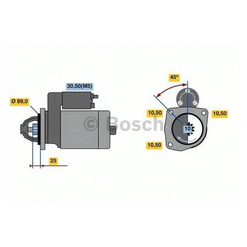Bosch 0 986 022 990 Стартер