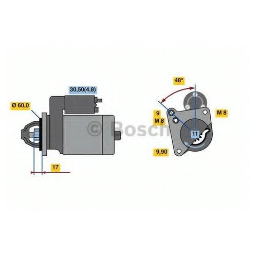 Bosch 0 986 023 050 Стартер