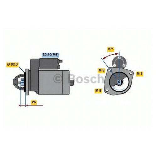 Bosch 0 986 023 120 Стартер