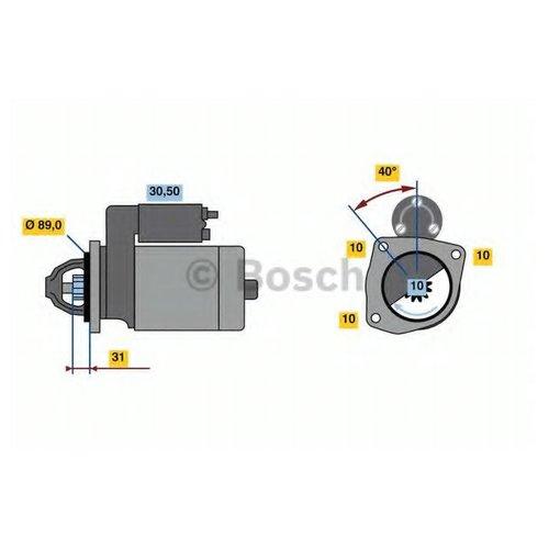 Bosch 0 986 023 190 Стартер
