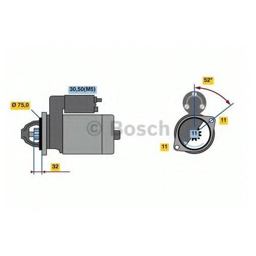 Bosch 0 986 023 250 Стартер