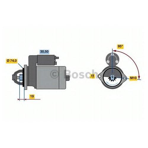 Bosch 0 986 023 260 Стартер