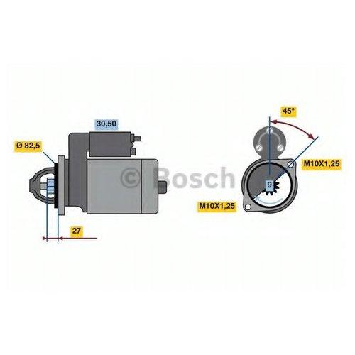 Bosch 0 986 023 370 Стартер