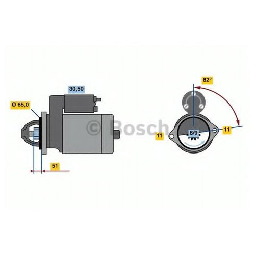 Bosch 0 986 023 470 Стартер