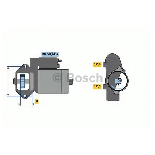 Bosch 0 986 023 480 Стартер