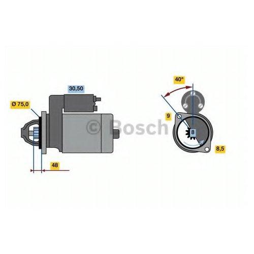 Bosch 0 986 023 520 Стартер