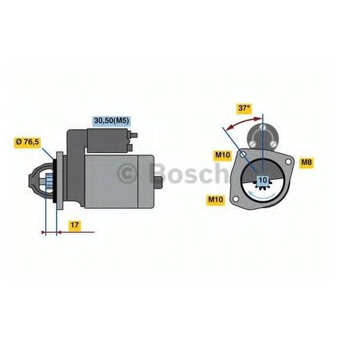 Bosch 0 986 023 530 Стартер