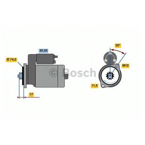 Bosch 0 986 023 560 Стартер