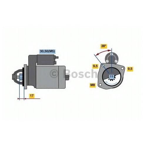 Bosch 0 986 023 580 Стартер