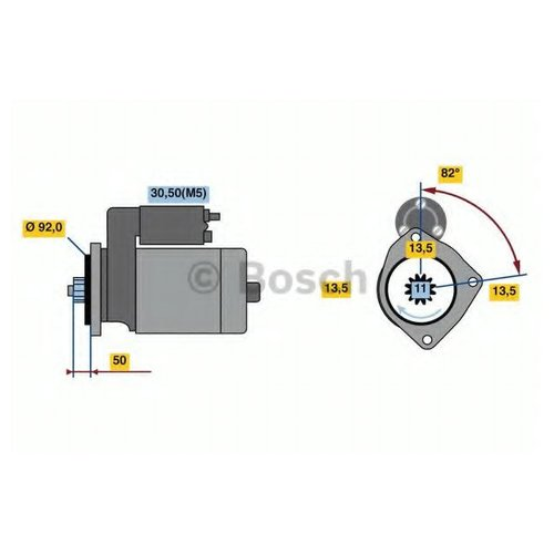 Bosch 0 986 023 590 Стартер