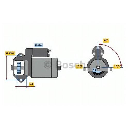 Bosch 0 986 023 610 Стартер