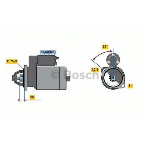 Bosch 0 986 023 640 Стартер