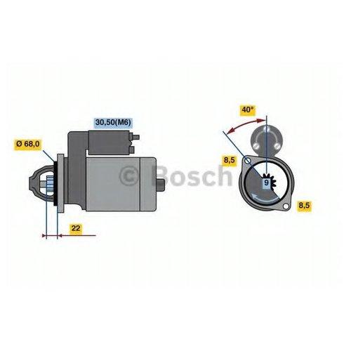 Bosch 0 986 023 660 Стартер