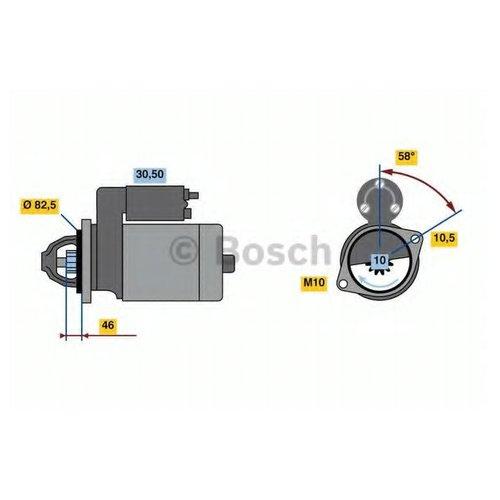 Bosch 0 986 023 680 Стартер