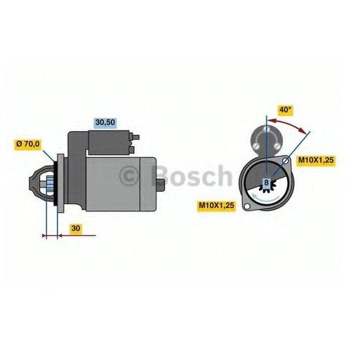 Bosch 0 986 023 720 Стартер