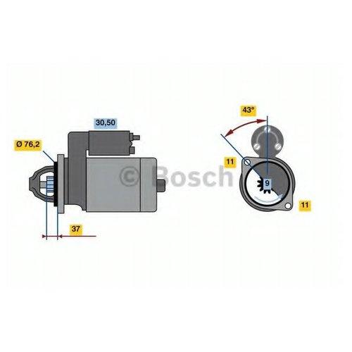 Bosch 0 986 023 730 Стартер