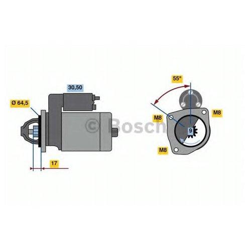 Bosch 0 986 023 740 Бендикс