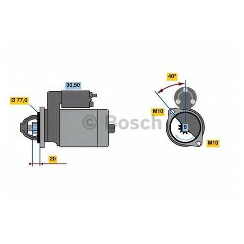 Bosch 0 986 023 750 Стартер