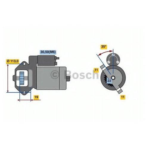 Bosch 0 986 023 760 Стартер